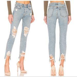 GRLFRND Karolina High Rise Skinny Jeans, 26